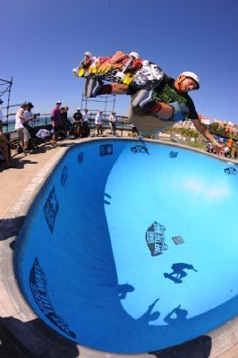 High action shots at Vans Bondi Beach event